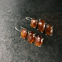 Load image into Gallery viewer, Theia Earring: Triple Orange Kyanite