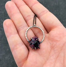 Load image into Gallery viewer, Eclipse Necklace: Atomic Amethyst