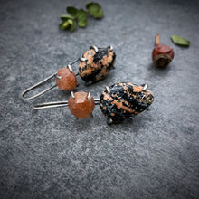 Load image into Gallery viewer, Theia Earring: Jasper and Sunstone