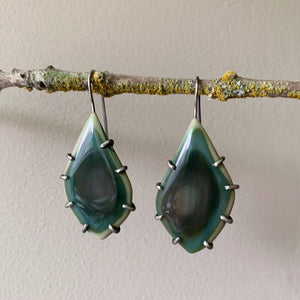 Theia Earrings: Royal Imperial Jasper