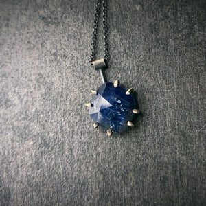 Gemstone Necklace: Blue Kyanite