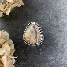 Load image into Gallery viewer, Crazy Lace Agate Ring