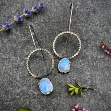 Load image into Gallery viewer, Luna Earring: Moonstone