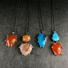 Load image into Gallery viewer, Theia Gemstone Necklace: Turquoise