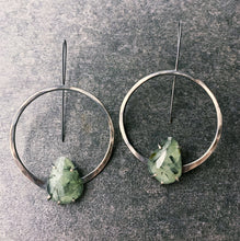 Load image into Gallery viewer, Ana Earrings with Prehnite