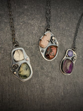 Load image into Gallery viewer, The Collector: Moonstone and Ocean Jasper Necklace