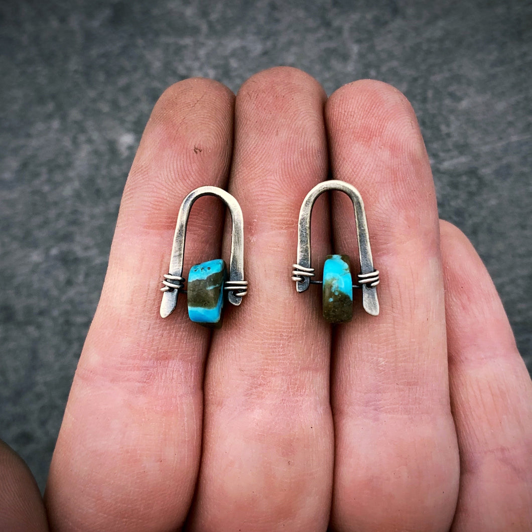 Icicle Earrings- Turquoise #1