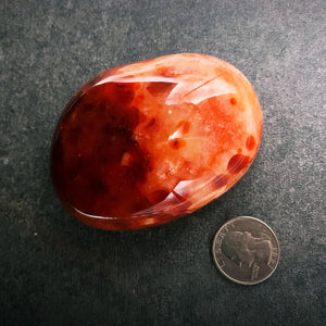 "Carnelian ""Pebble"" - Large"