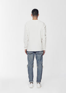 RELAXED LONG SLEEVE T SHIRT