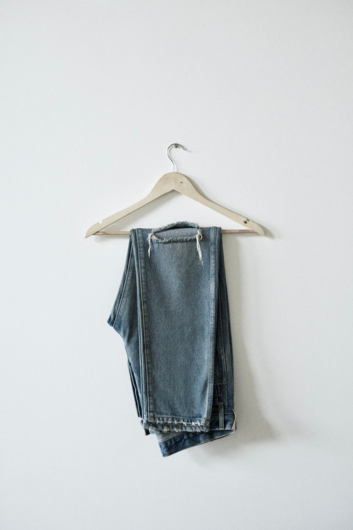 Load image into Gallery viewer, DENIM JEANS (DUST BOWL WASH)