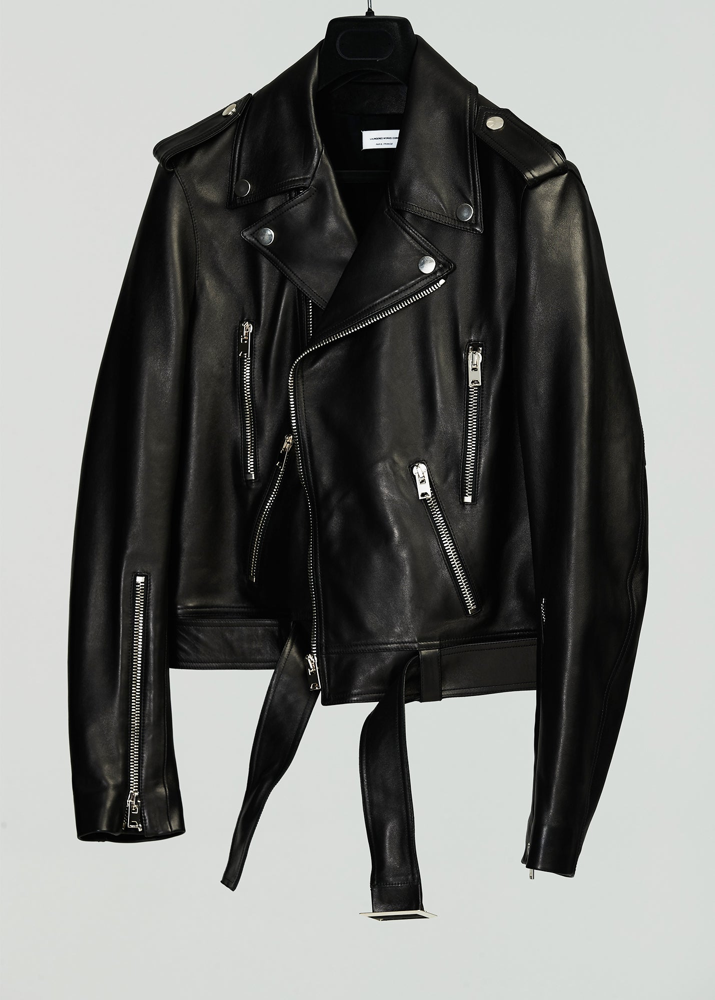 Load image into Gallery viewer, PERFECTO JACKET (LEATHER)(BLACK)
