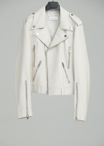 PERFECTO JACKET (LEATHER)(OATMEAL)