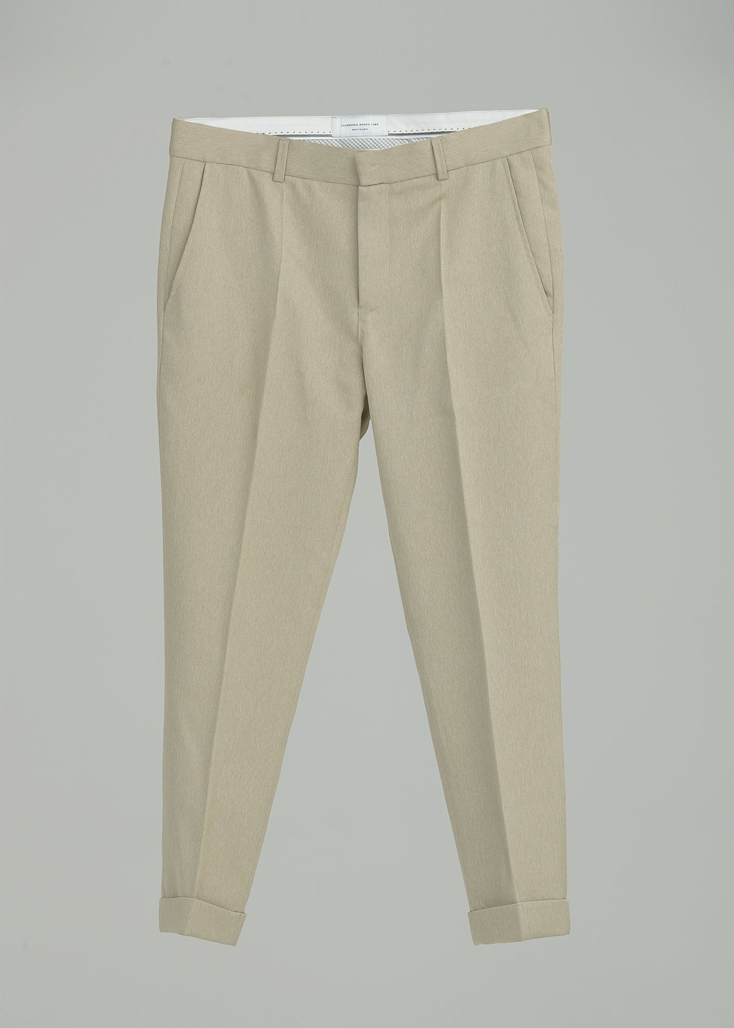 Load image into Gallery viewer, CROPPED TROUSER (HARRINGBONE)