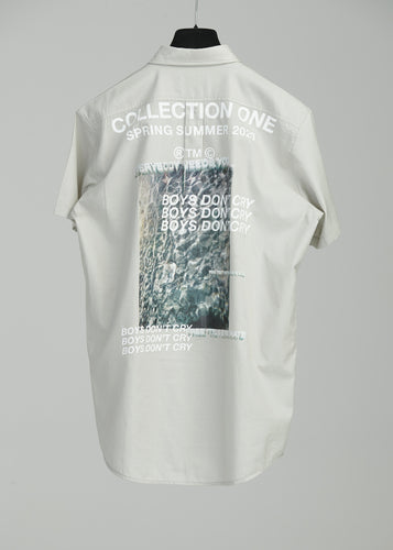 BOYS DON'T CRY OVERSHIRT S/S