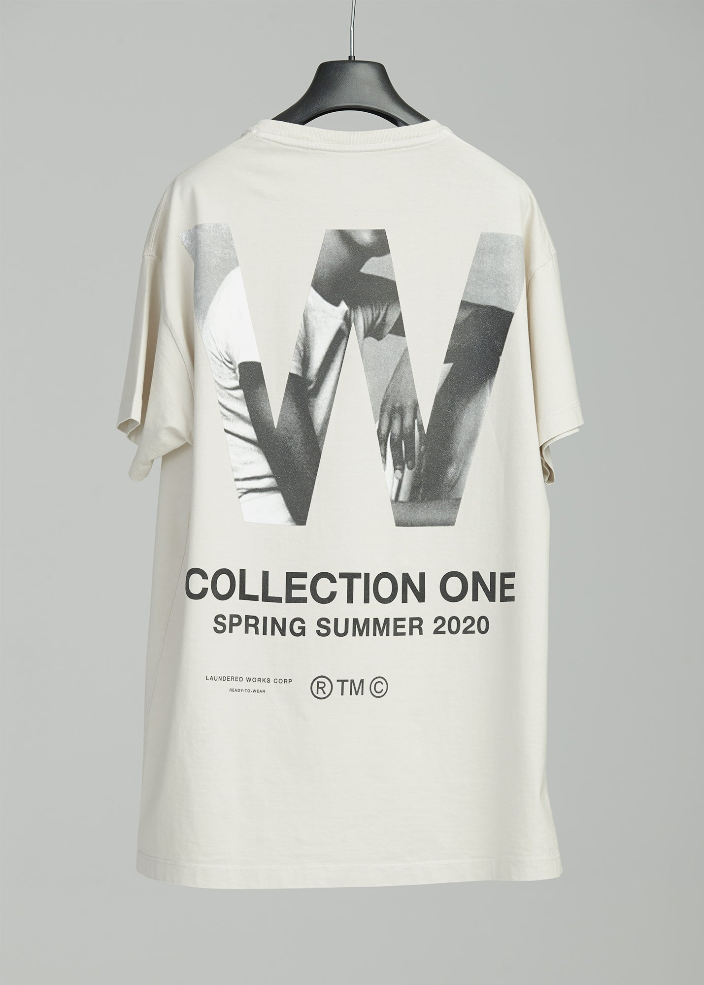 "Load image into Gallery viewer, ""W"" SEASON ONE COMMEMORATIVE T SHIRT (MODEL)"