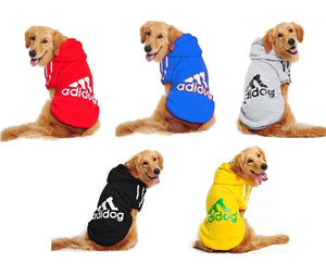 "Adidas ""Adidog"" Hoodie for Larger Dogs"