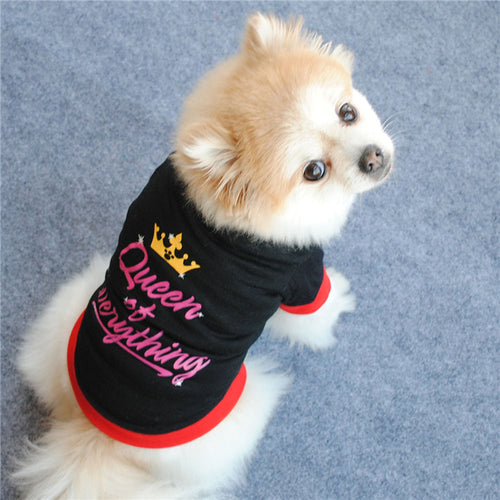 Queen of Everything Tee for Dogs