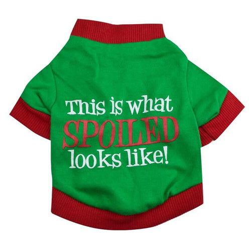 This is What Spoiled Looks Like Tee for Dogs