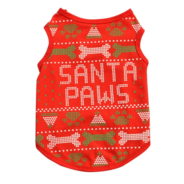Various Novelty Christmas Sweaters for Dogs