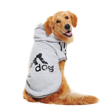 "Load image into Gallery viewer, Adidas ""Adidog"" Hoodie for Larger Dogs"