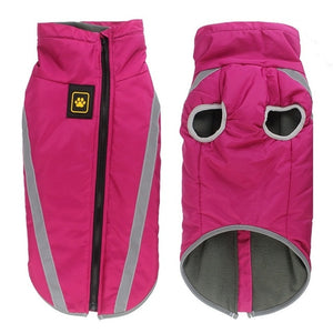 Waterproof Fleece Lined Vest for Dogs