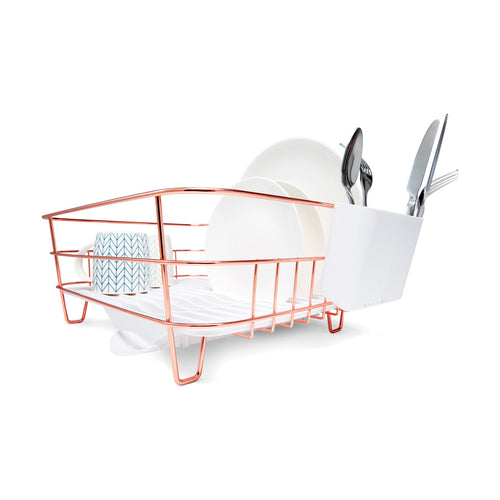 Rose Gold Look Dish Rack