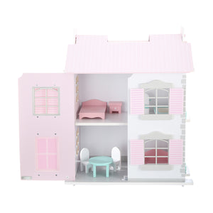 Wooden Cottage Dollhouse