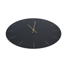 Load image into Gallery viewer, Large Black Clock