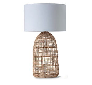Rattan Table Lamp