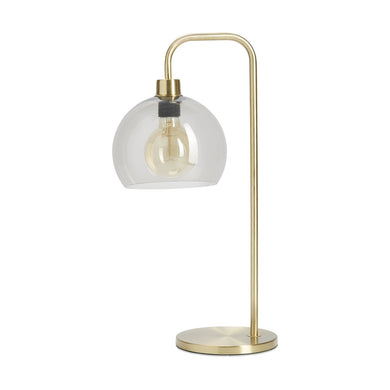 Brass Look Table Lamp