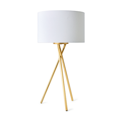 Tripod Table Lamp - Brass Look