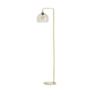 Brass Look Floor Lamp
