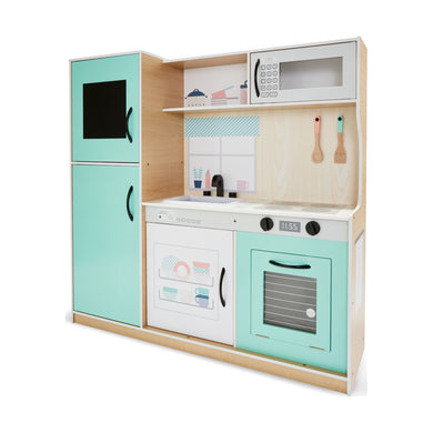 Large Wooden Kitchen Playset
