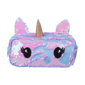 Pencil Case Sequin Unicorn