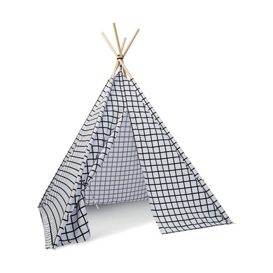 Teepee Play Tent - Grid