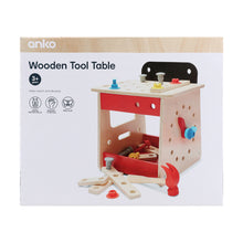 Load image into Gallery viewer, Wooden Tool Table