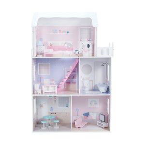Wooden Traditional Dollhouse