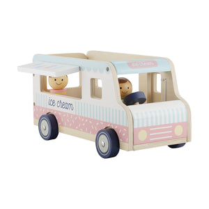 Wooden Ice Cream Truck Toy