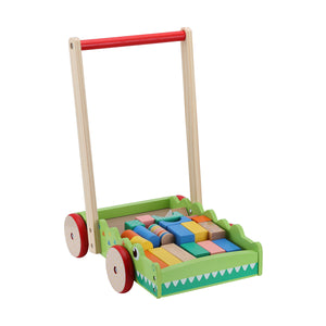 Wooden Walker with Blocks