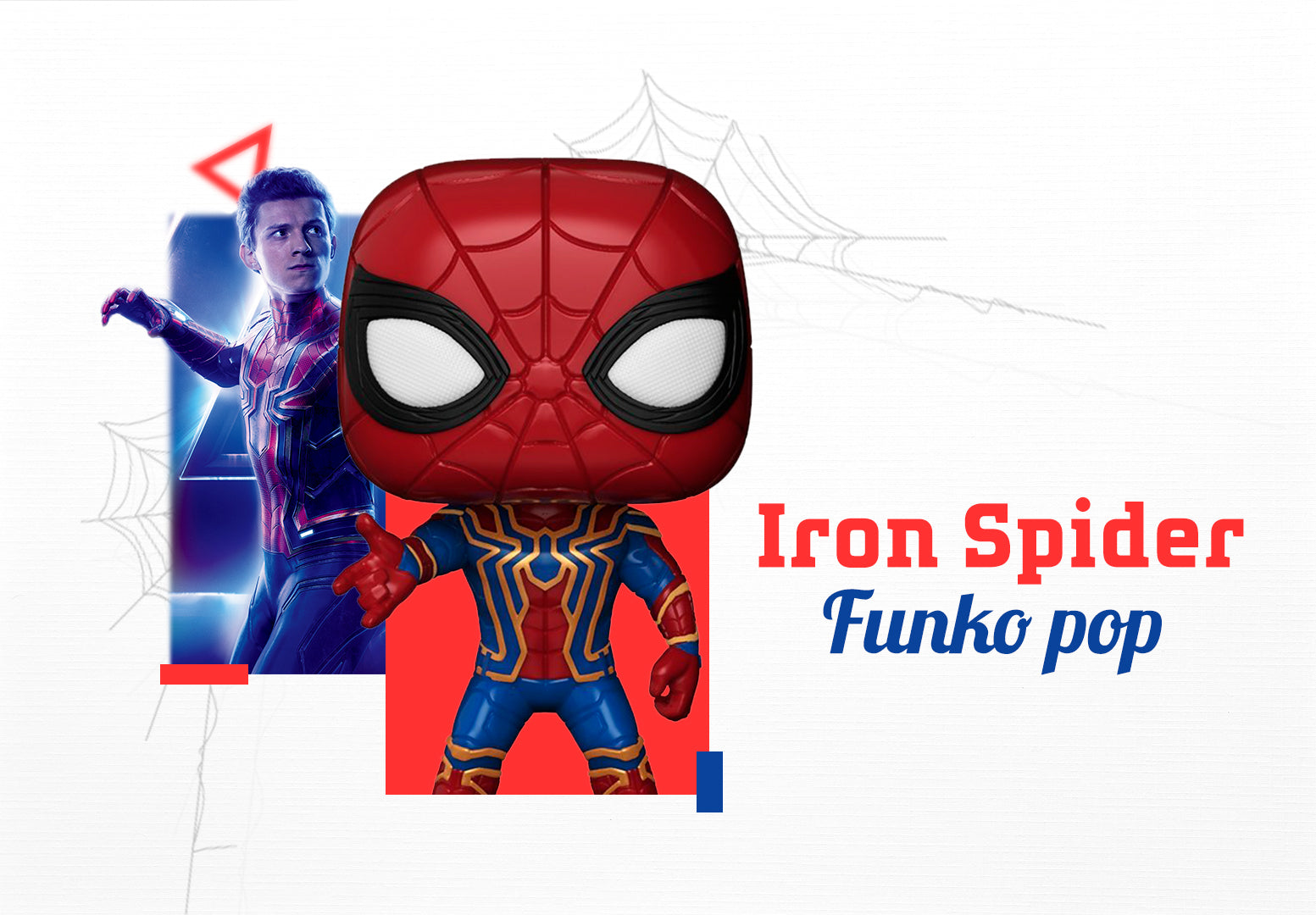 Funko pop Iron Spider: Avengers Infinity War