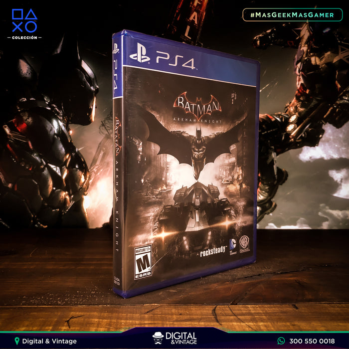 Batman Arkham Knight - Juego PS4 - Juegos PlayStation