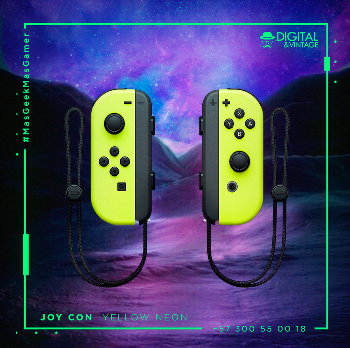 Control Nintendo Switch - Joy-Con - Amarillo Neon