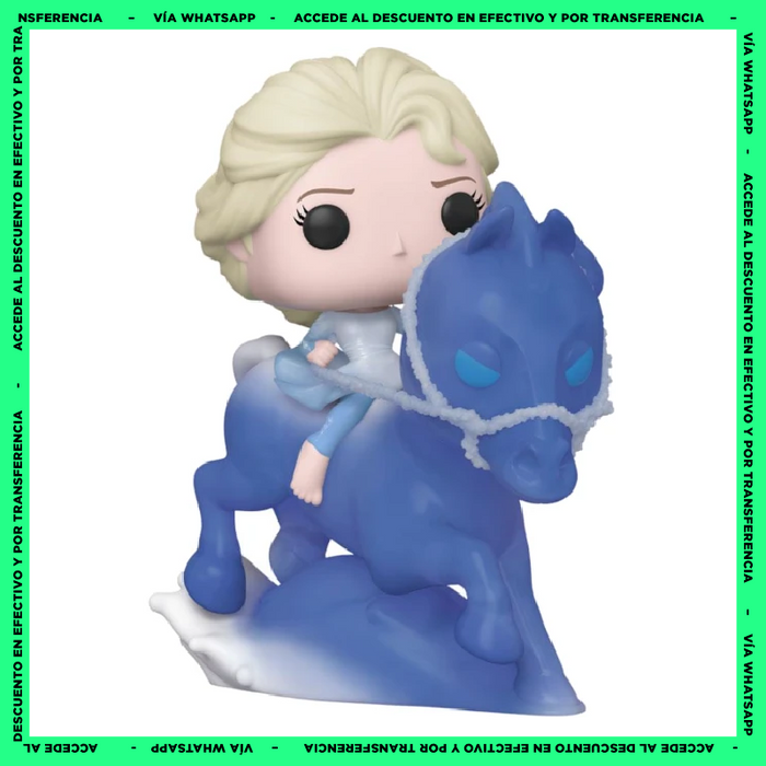 Funko Pop Elsa Riding Nokk - (74) - Frozen 2 - Grande - 6 Pulgadas