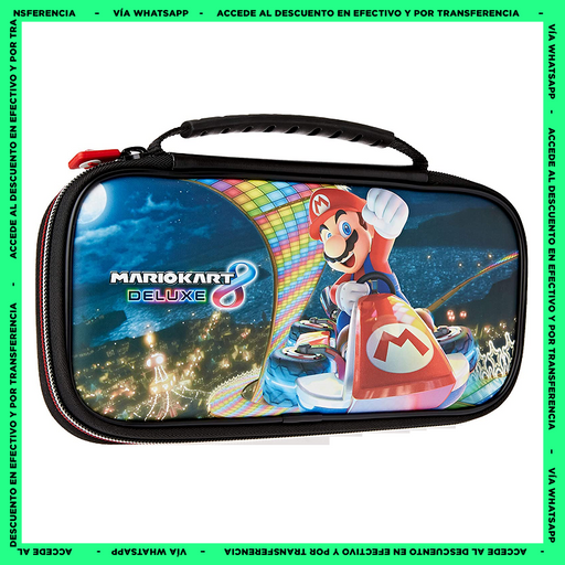 Estuche Nintendo Switch - Mario Kart 8 - Game Traveler  Deluxe Travel Case - Producto Oficial