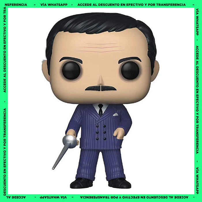 Funko Pop Gomez Addams (810) - The Addams Family - Chase