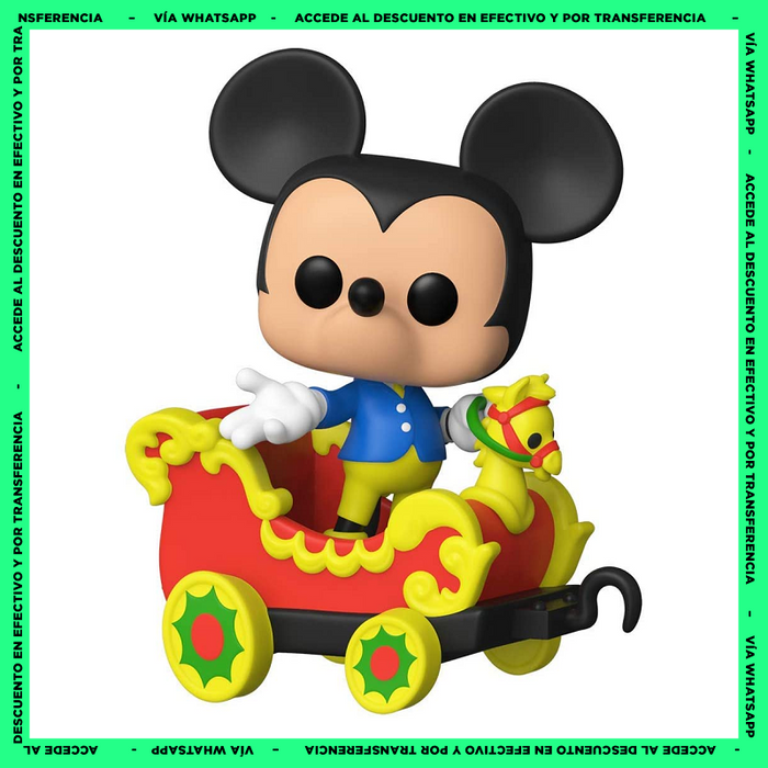 Funko Pop Mickey Mouse On The Casey Jr. Circus Train (03) - Disney - Ride