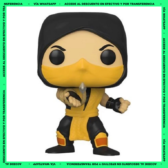 Funko Pop Scorpion (537) - Mortal Kombat
