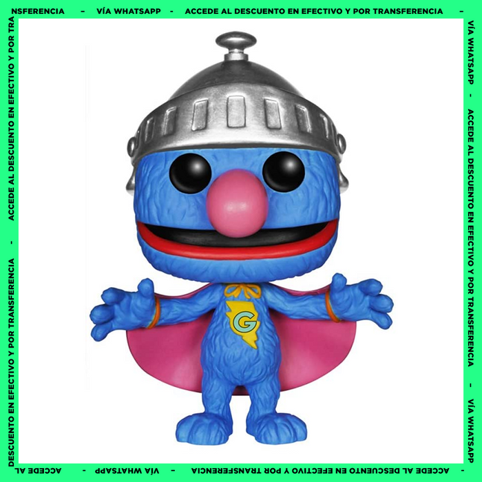 Funko Pop Super Grover (01) - Sesame Street