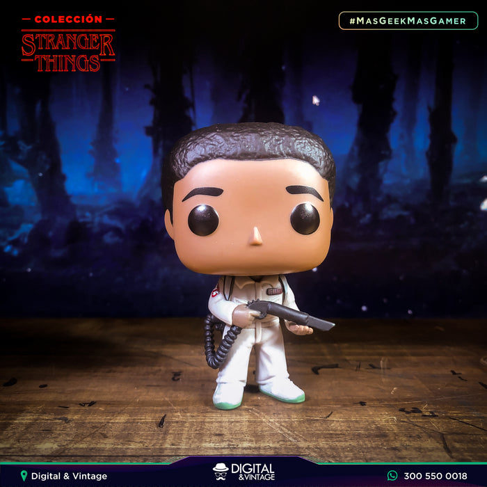 Funko Pop Ghostbuster Lucas (548) - Stranger Things