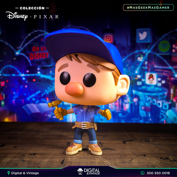 Funko Pop Fix It Felix  (11) - Ralph Breaks The Internet - Disney